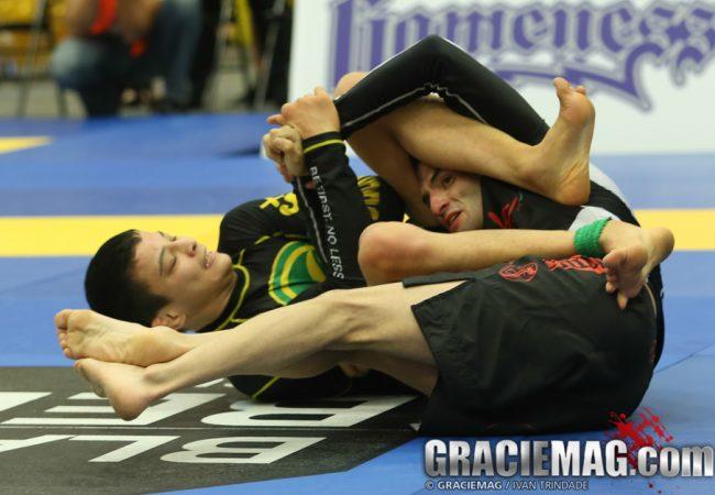João Miyao e o giro frenético contra Alexis Barragan no Chicago Open de Jiu-Jitsu