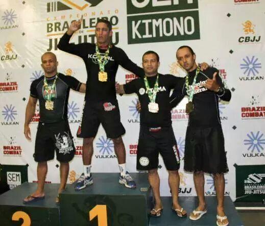 Brasileiro de Jiu-Jitsu Sem Kimono: a garra do veterano Richard Flood