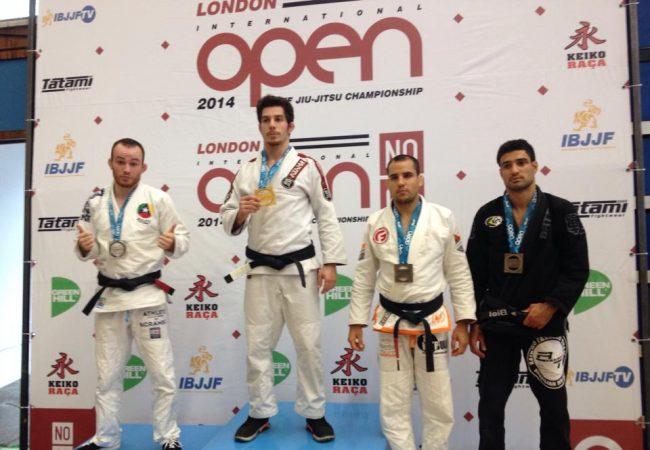 London Open de Jiu-Jitsu: a vitória que valeu o ouro peso leve faixa-preta