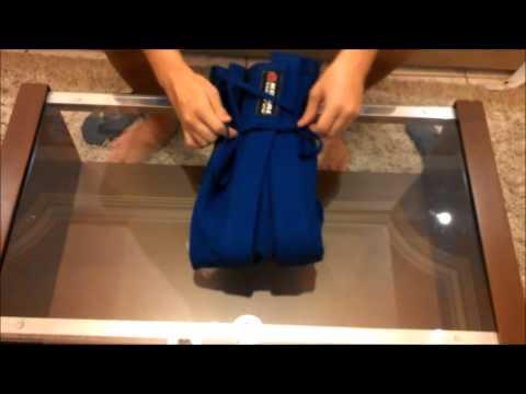 Faça seu kimono virar mochila e vá treinar Jiu-Jitsu com estilo