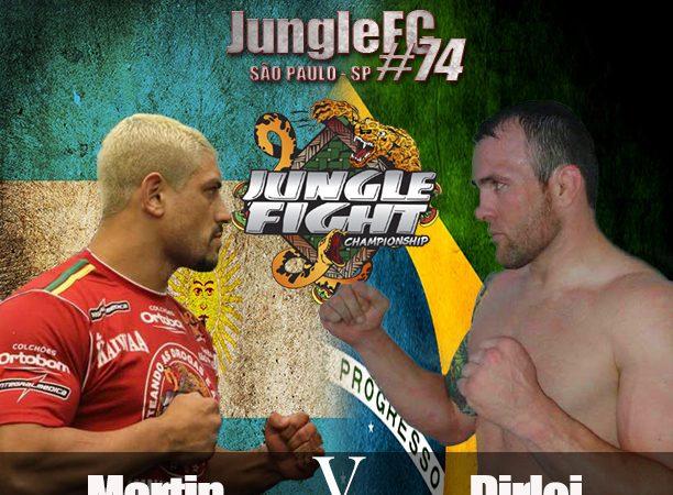 """Duelo """"Brasil x Argentina"""" agita o Jungle Fight 74, em São Paulo"""
