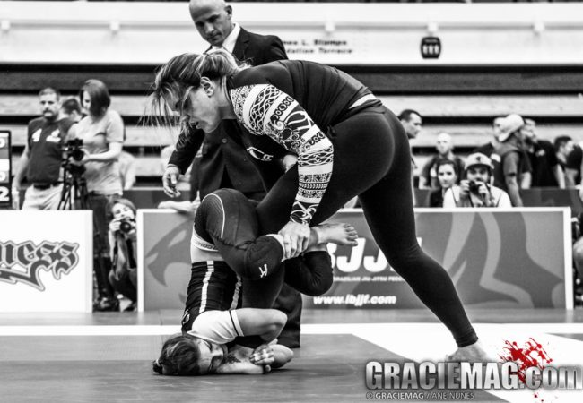 Watch Gabi Garcia vs. Mackenzie Dern in the Worlds No-Gi open class final