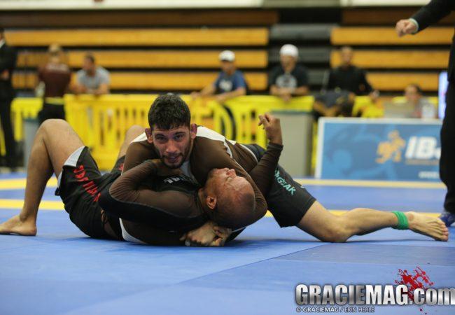 Watch how Matheus Diniz beat Gilbert Burns at the NY Summer Open No-Gi