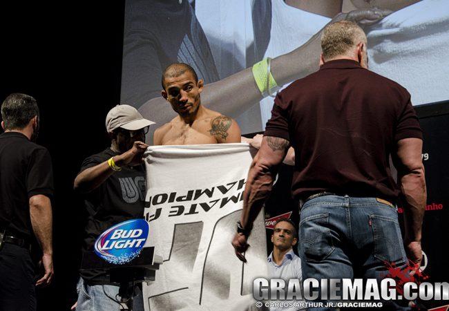 UFC 179: Com suspense, Aldo bate peso e duelo com Mendes é confirmado