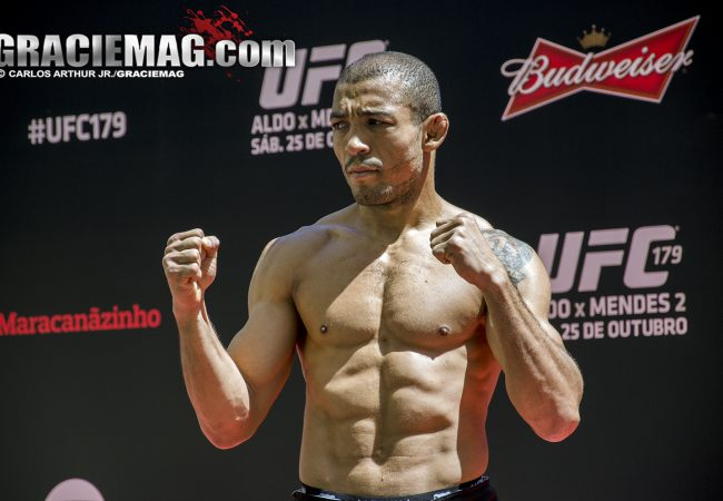 José Aldo encara rival de uma década no UFC 233, em janeiro