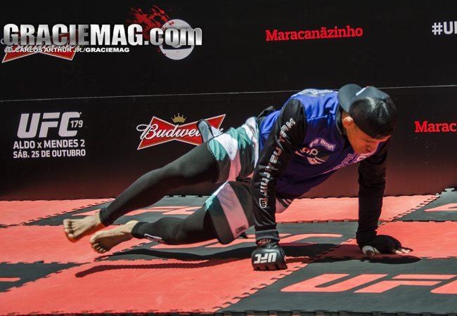 Vídeo: O treino físico de Gilbert Durinho para vencer no UFC em São Paulo