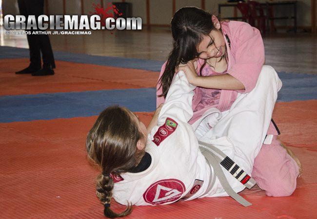 A menina que superou o bullying com a ajuda do Jiu-Jitsu