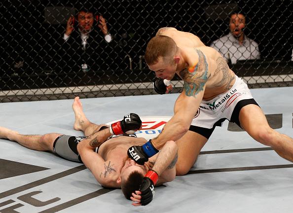 Reveja o nocaute fulminante de Mike Wilkinson no UFC Estocolmo