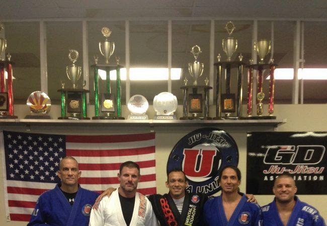 Gustavo Dantas of GD Jiu-Jitsu Association promotes first black belts to second degree