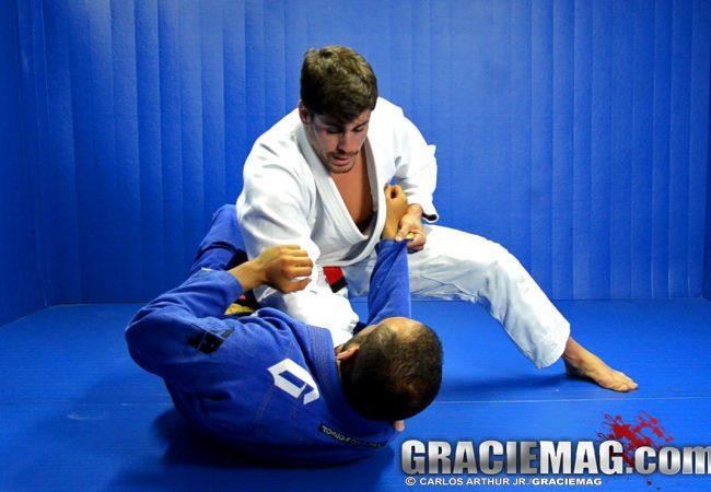 Jiu-Jitsu: Aprenda com Cara de Sapato a estrangular da meia-guarda