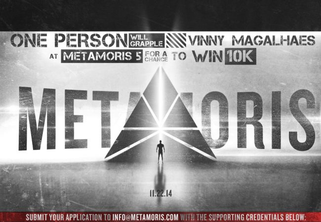 Metamoris: do you think you can take Vinny Magalhães and win $10K?