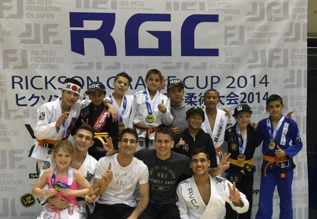 AOJ in Japan: Gold medals at Rickson Gracie Cup for Mendes brothers and students
