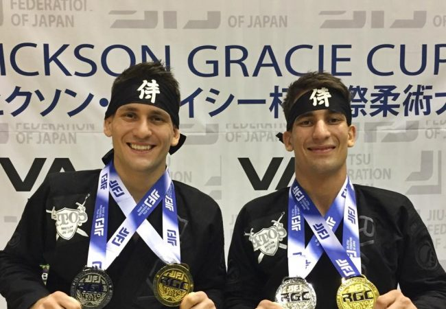 Video: How many passes, sweeps and subs did Mendes bros get at Rickson Gracie Cup?