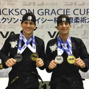 The double gold brothers. Photo: Personal archive