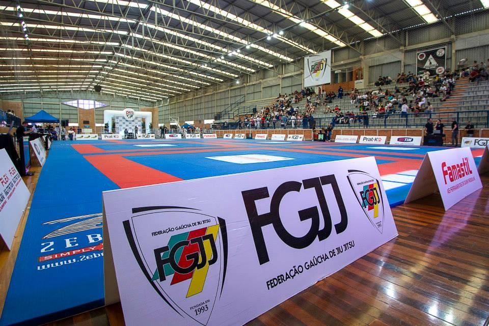 Ginásio que vai ser palco da Copa Prime de Jiu-Jitsu. Foto: Absoluto Imagens