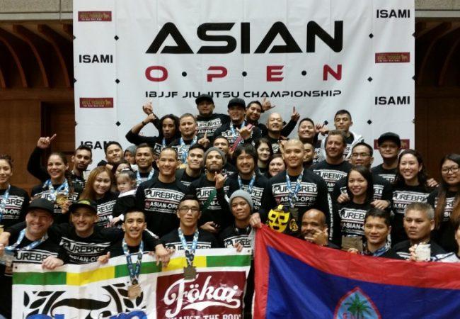 GMA Purebred Jiu-Jitsu Guam captures 25 medals, female team trophy at 2014 Asian Open