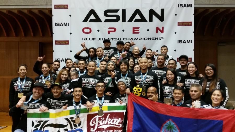 Purebred Jiu Jitsu Guam competitors and supporters. Photo: Personal archive
