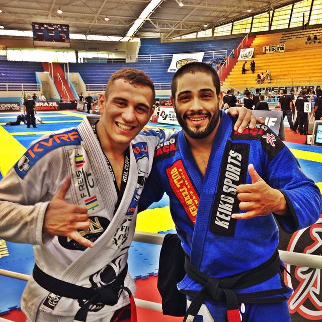 Dimitrius Souza and Renato Cardoso. Photo by Personal Archives