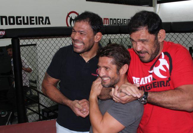 Campeão da Copa de 1998, jogador abraça o Jiu-Jitsu e treina com os irmãos Nogueira