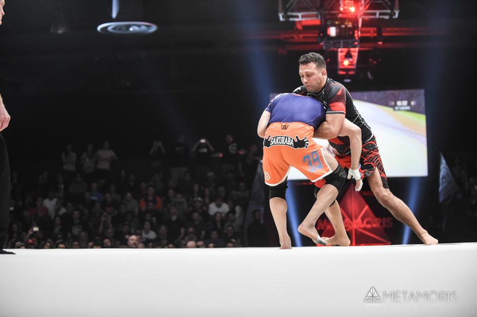 Renzo Gracie vs. Kazushi Sakuraba at Metamoris 5 Phto by Scott Hiran/Metamoris