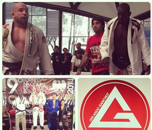 Orlando Sanchez of GMA Gracie Barra Pasadena shines in Mexico City