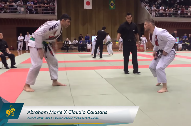 Video: Watch Calasans vs. Marte in Asian Open black belt absolute go the distance