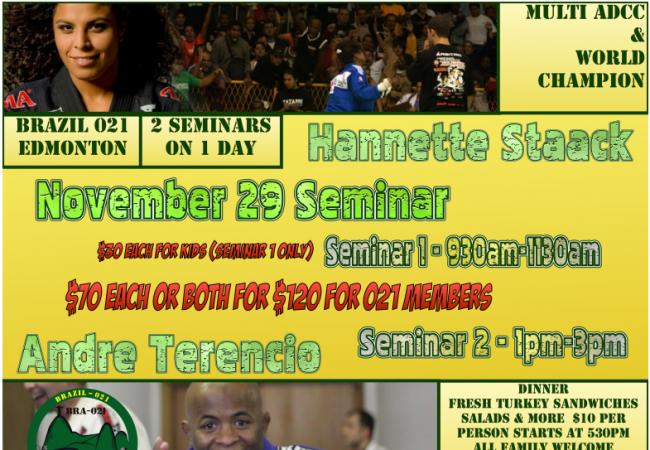 Edmonton: Learn from Andre Terencio & Hannette Staack on Nov. 29