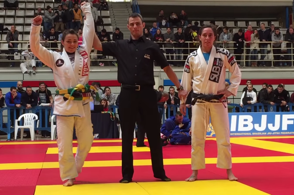 Video: Watch Michelle Nicolini's match and armbar at the 2014 IBJJF Madrid Open