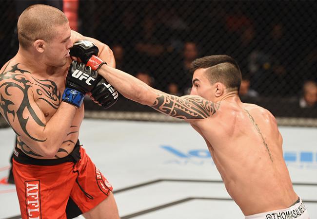 """Estreante Thomas Almeida destrincha lições do """"susto inicial"""" no UFC"""