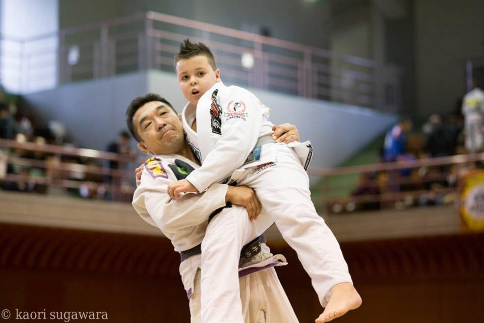 Yuki Nakai e Kenzo no Asian Open 2014 Foto Divulgacao