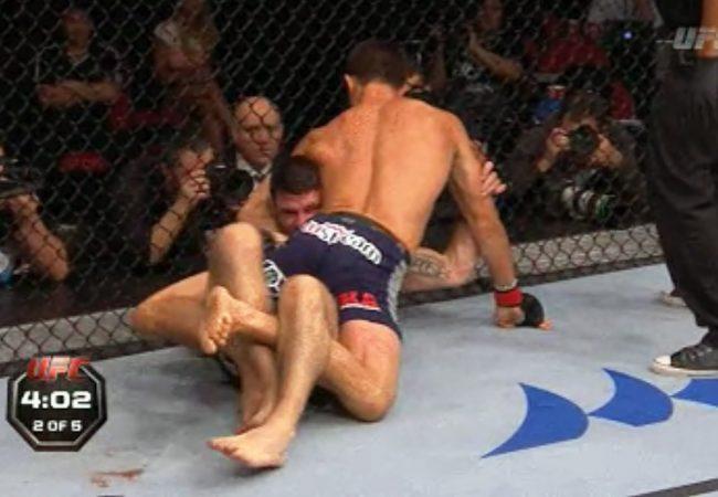 Jiu-Jitsu: veja Rockhold e sua guilhotina de um só braço no UFC em Sydney