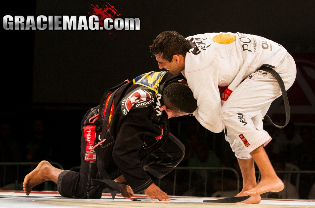 Leandro Lo vs. Gilbert Burns at Copa Podio Photo by Carlos Arthur