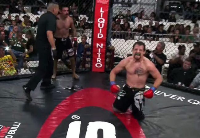 Vídeo: Lutador com perna amputada finaliza no MMA e assina com Legacy
