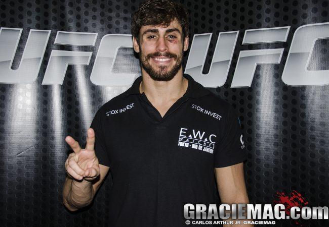 Vídeo: Cara de Sapato quer testar sua guarda de Jiu-Jitsu no UFC Barueri