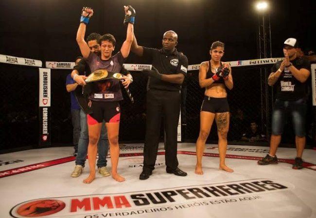 Vídeo: Algoz de feras do Jiu-Jitsu, Virna Jandiroba finaliza por cinturão no MMA