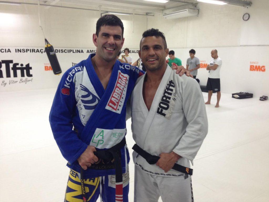 Rodrigo Cavaca and Vitor Belfort.