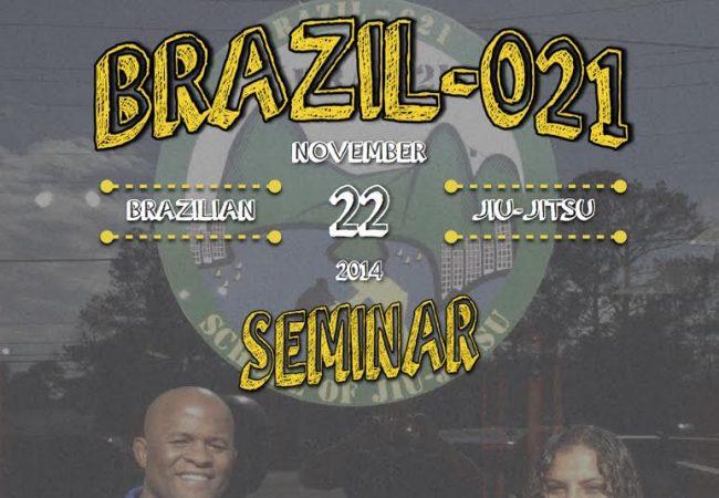 Andre Terencio & Hannette Staack seminar in Houston, TX on Nov. 22