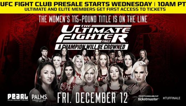 TUF 20 finale: six matches announced on card that will crown new female champion