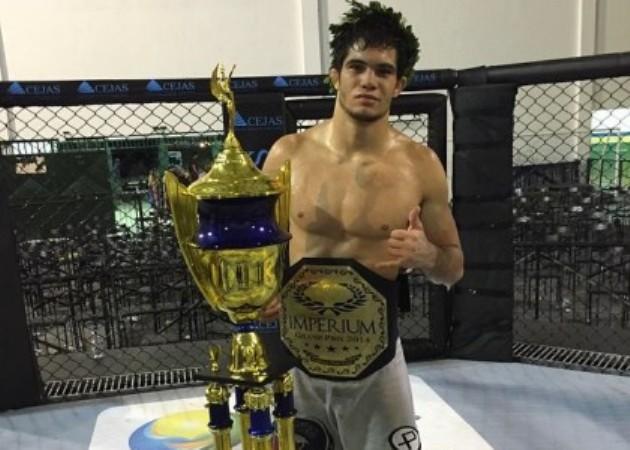 O katagatame do campeão do GP do Imperium MMA