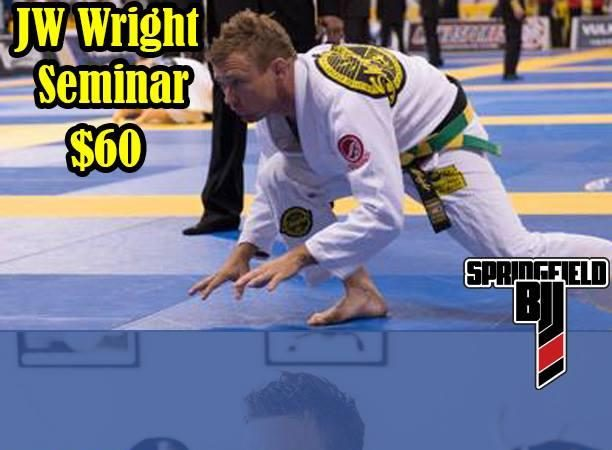 Don't miss the JW Wright seminar in Springfield, MO on Jan. 31