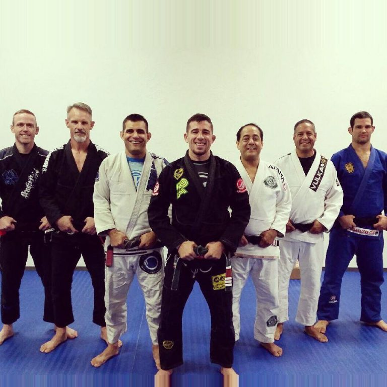 Marco Torregrosa and his newly promoted students. Photo: Personal archive
