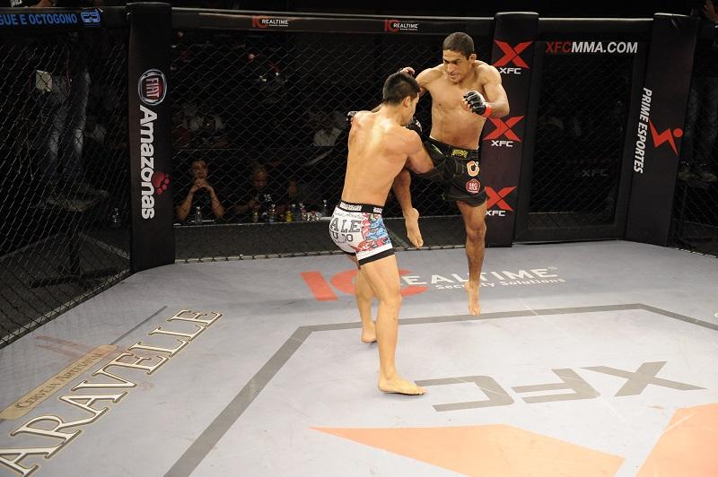 Fernando Vieira conquista  mais uma no peso leve do MMA. Foto: Fusion Photografy