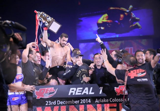 Watch Kron Gracie win via armbar in his MMA debut