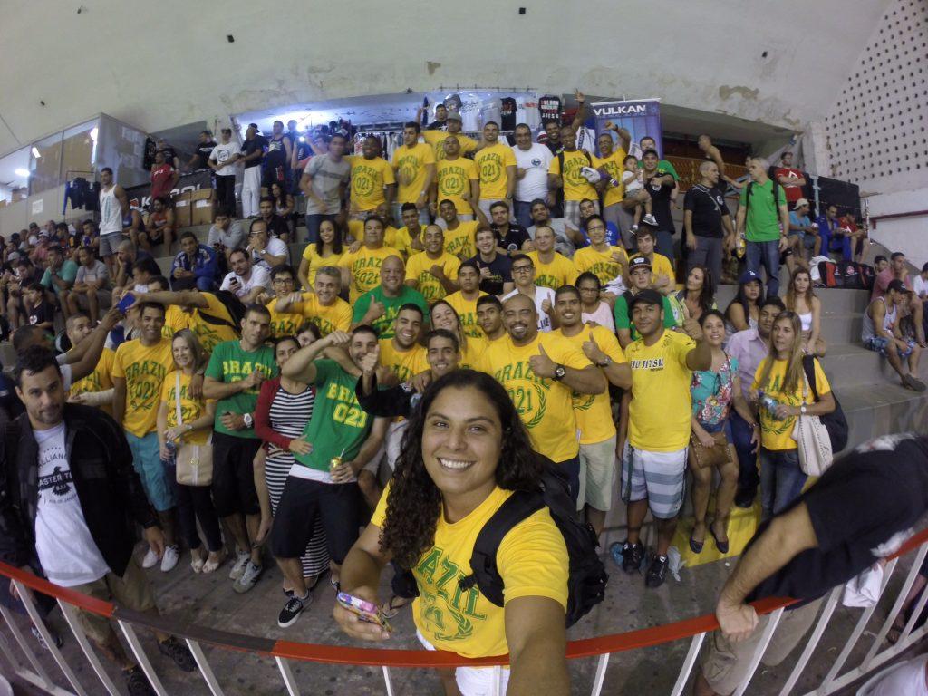 Hannette Staack with Brazil-021 School of Jiu-Jitsu team.