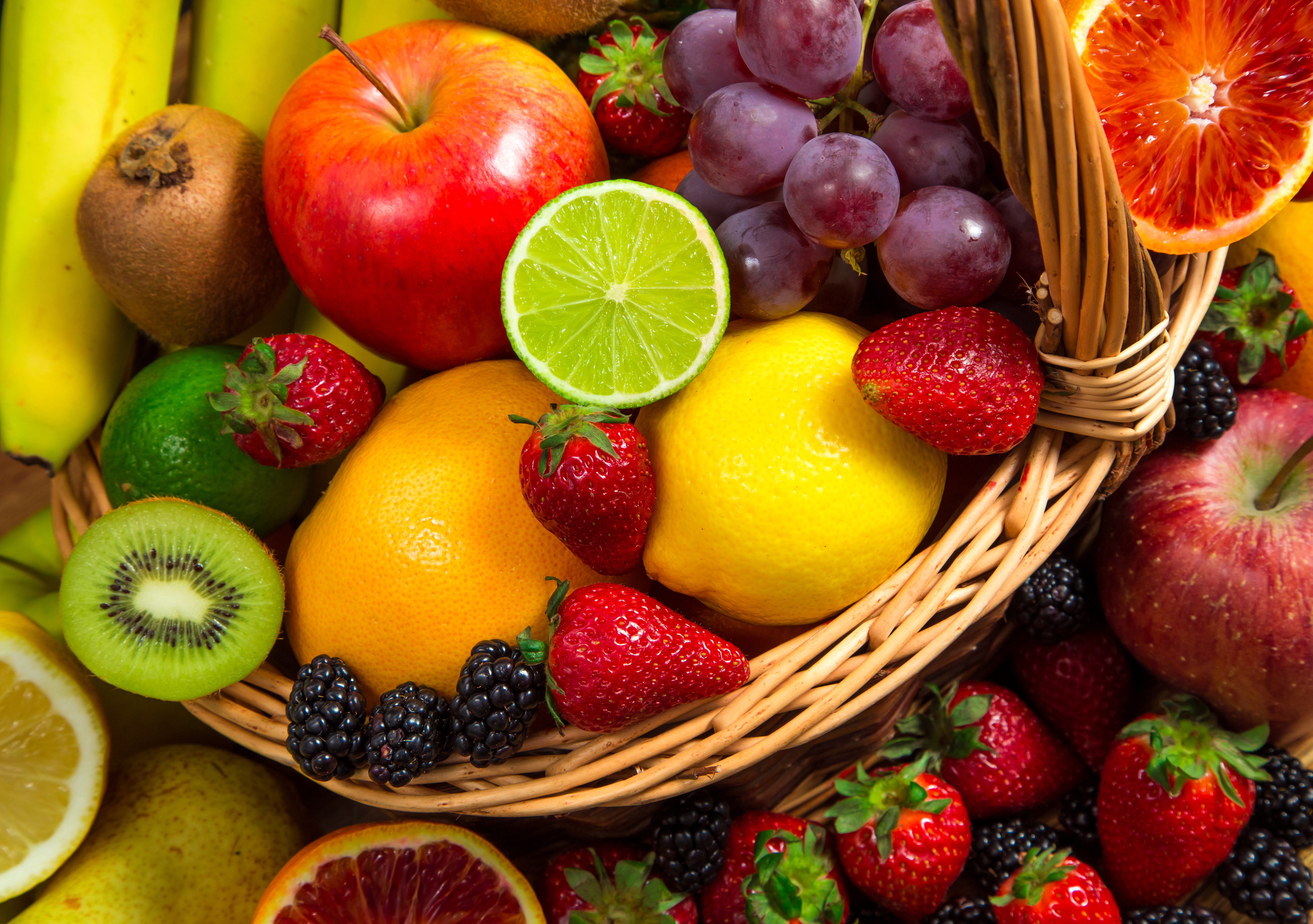 fruit edibles what are the most healthy fruits