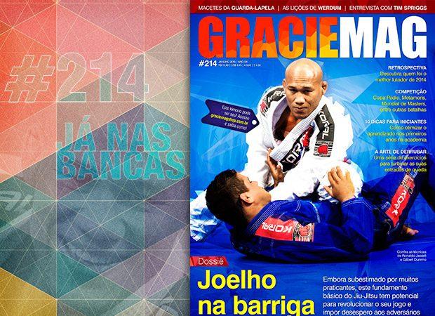 GRACIEMAG: Jacaré e a força do joelho na barriga no Jiu-Jitsu e MMA