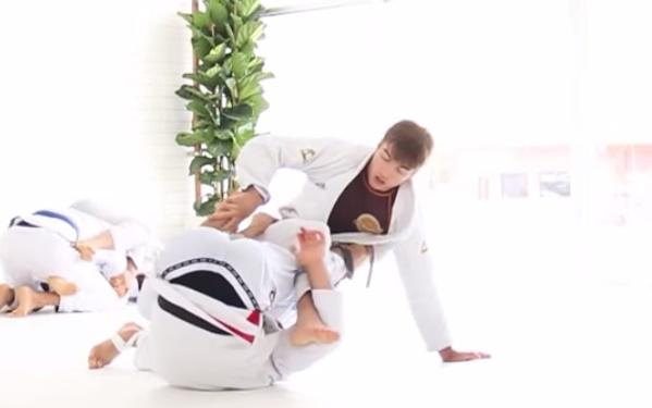 O treino de Jiu-Jitsu dos levinhos Gui Mendes e Gianni Grippo