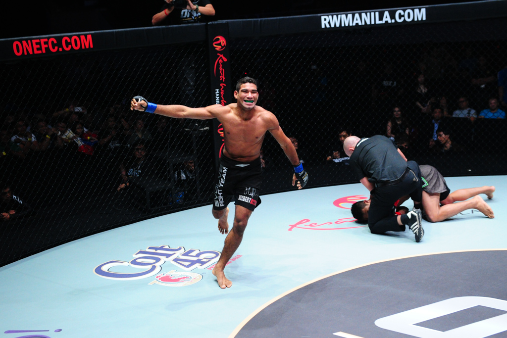 Herbert also fight MMA and today is one of the One FC stars. Photo: One FC