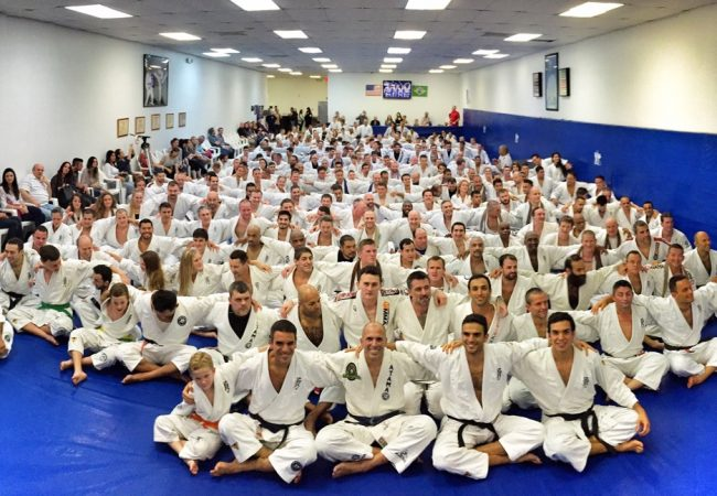 Royce and Valente Brothers host Helio Gracie Belt Ceremony with over 450 attendees