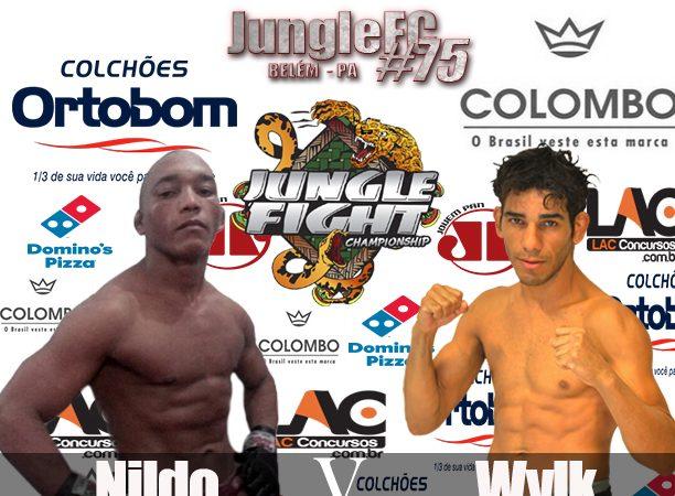 Katchal e Capoeira com cinturões em jogo no Jungle 75, em Belém